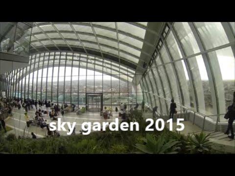 SKY GARDEN LONDON TRAVEL 2015