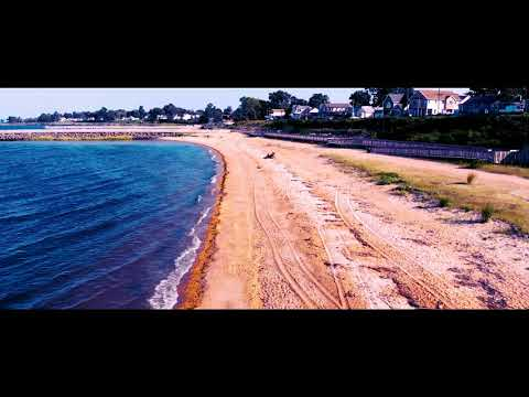 Old Bridge Waterfront Park in New Jersey 4K Mavic Air Drone Cinematic Video Footage