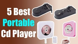 5 Best Portable Cd Player