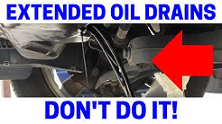 BEWARE Of Extended Drain Intervals Using 100% Synthetic Oil.  See Interior Of Engine