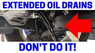 BEWARE Of Extended Drain Intervals Using 100 Synthetic Oil. See Interior Of Engine