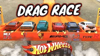 Hot Wheels Drag Race