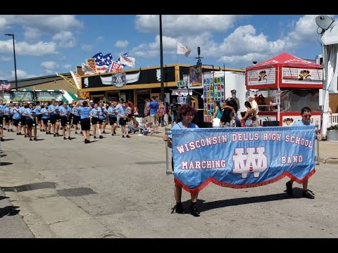 Wisconsin Dells High School Marching Band - WI State Fair 2019