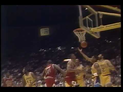 1991 NBA finals game 4 intro