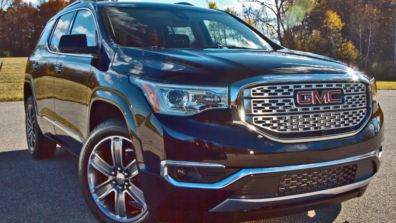 2017 gmc acadia footage youtube. Black Bedroom Furniture Sets. Home Design Ideas