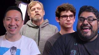 Mark Hamill Pranks Star Wars Fans (Reaction)