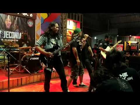 SYNDROME Fear Of The Dark ( Iron Maiden Cover)  Live @ Nicetime Cafe Purwokerto