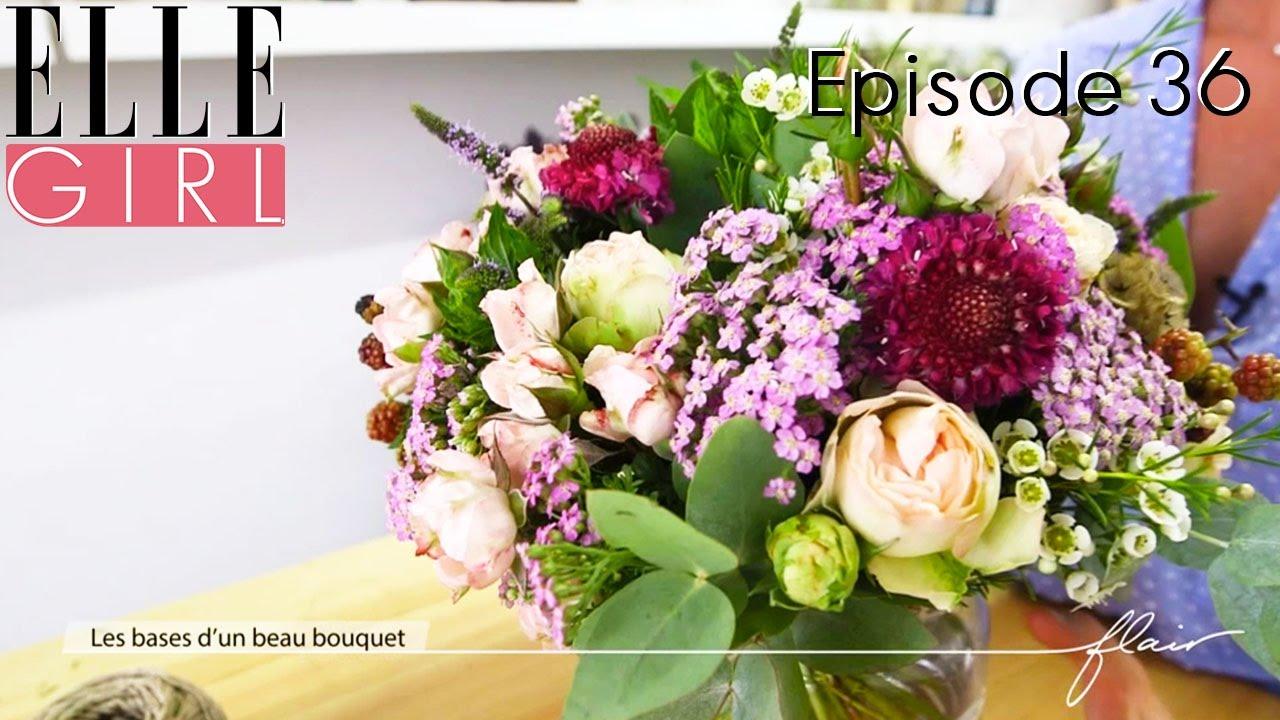 Les Bases D'un Beau Bouquet De Fleurs ! Avec Hélène