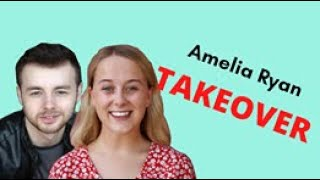 The Amelia Ryan Takeover: Reilly Featherstone was on Sex Education!