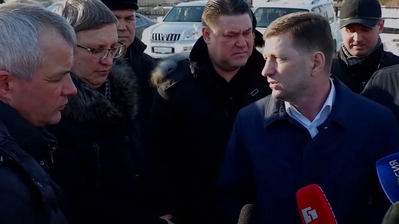 Рабочие будни губернатора Сергея Фургала / Коронавирус, возрождаем трамваи, больница без ремонта