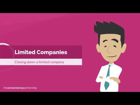 Closing down a Limited Company - The Accountancy Partnership