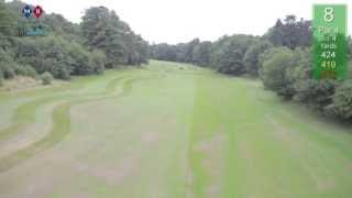 Low Trajectory Golf Course Fly-THRU Promo film