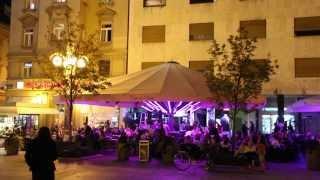 3- Senčniki suncobrani Border - 12x12m - Cafe de Paris, Cvjetni trg, Zagreb (Border Kozje) krajši