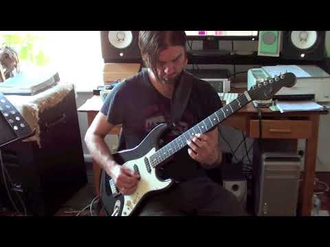 Funk Rock Guitar Solo 3# with PDF & TAB