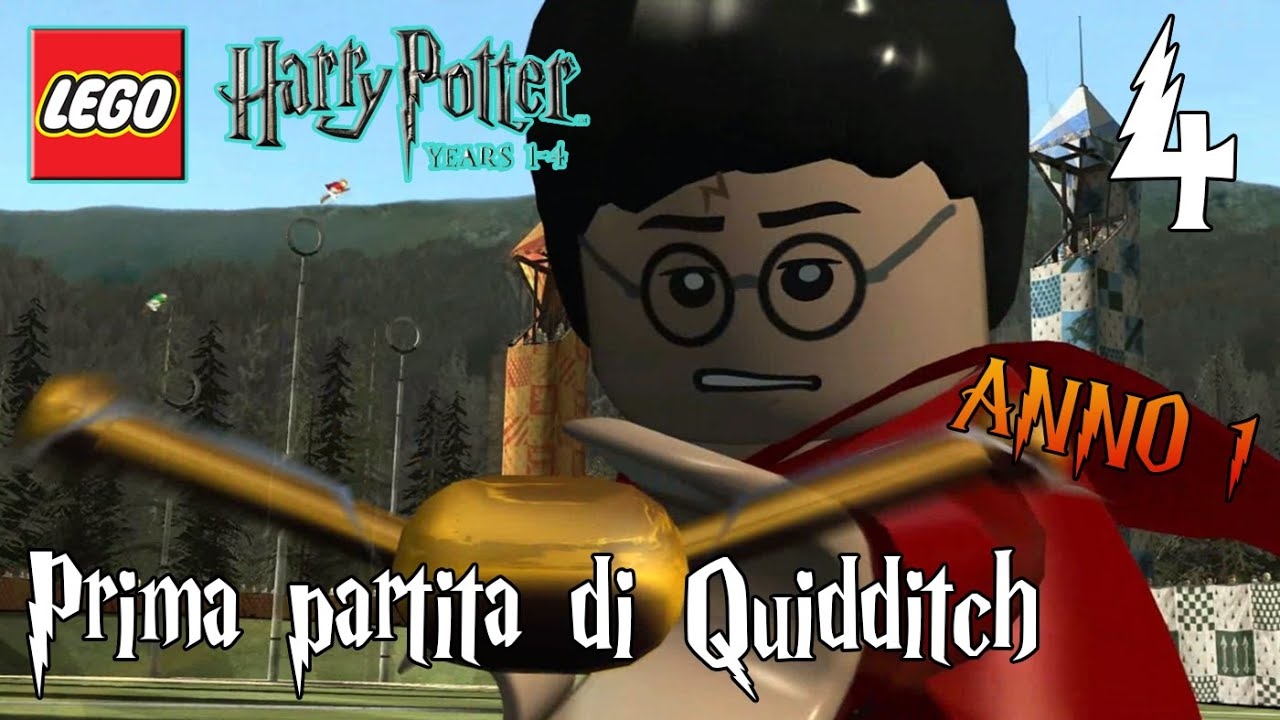 lego harry potter 1.4 how to get the broomsticks