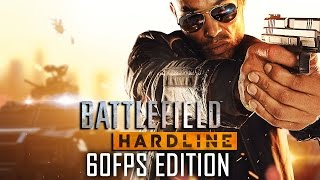 Battlefield Hardline 60FPS All Cutscenes (Game Movie) PS4 HD