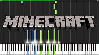Wet Hands - Minecraft [Piano Tutorial] (Synthesia) // Torby Brand