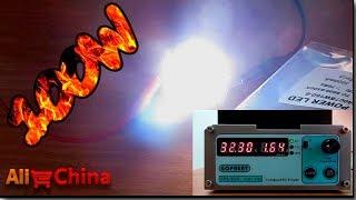 LED 100W светодиод распаковка, обзор, тест