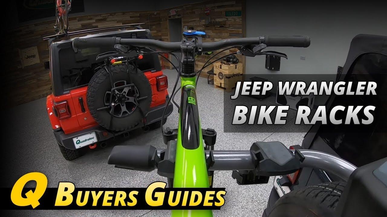 bike rack buyers guide for jeep wrangler roof racks hitch racks spare tire racks