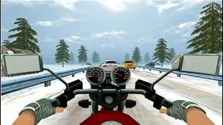 Highway Real Traffic Bike Racer - Motor Racing Games - Android Gameplay FHD