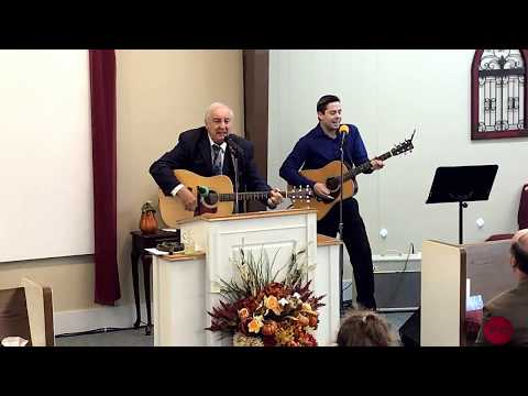 Evangelist Freddy Clark Ministering With Southern Gospel Music And Sermon