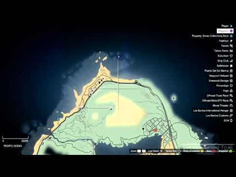 GTA V Secret Underwater Alien Spaceship UFO