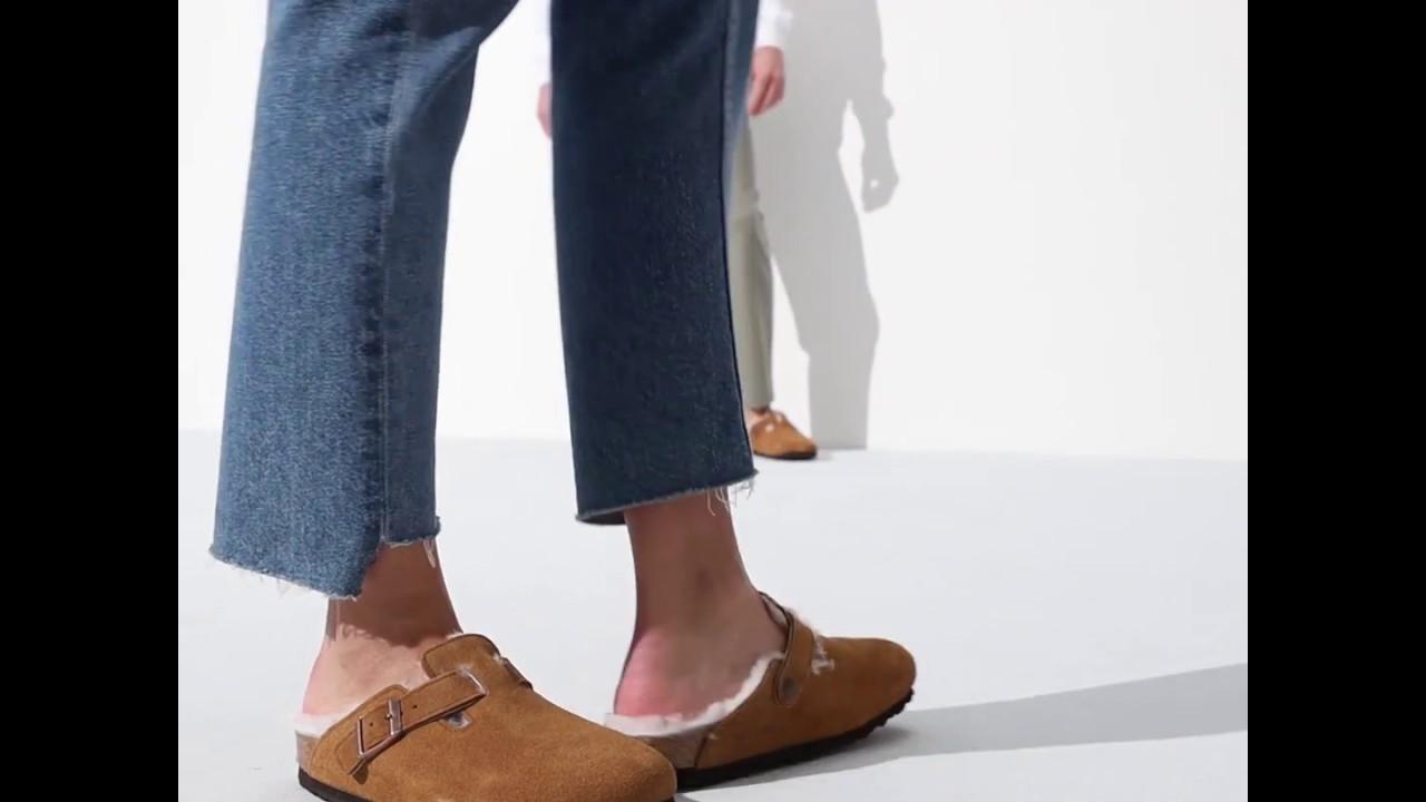 Boston Suede Leather Mink | shop online