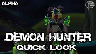 Demon Hunter (Story Spoiler Free)- Legion Alpha Quick Look