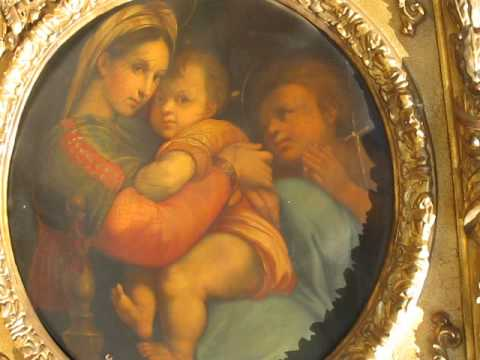 Madonna Of The Chair Antique Morris Chairs Drew Shares An Awesome Family Heirloom Exact Copy Raphael S