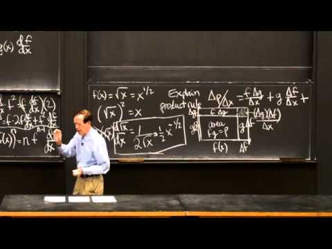 Product Rule and Quotient Rule | MIT Highlights of Calculus