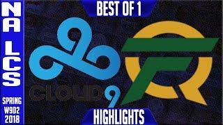 Video C9 vs FLY Highlights | NA LCS Week 9 Spring 2018 W9D2 | Cloud 9 vs FlyQuest Highlights download MP3, 3GP, MP4, WEBM, AVI, FLV Agustus 2018