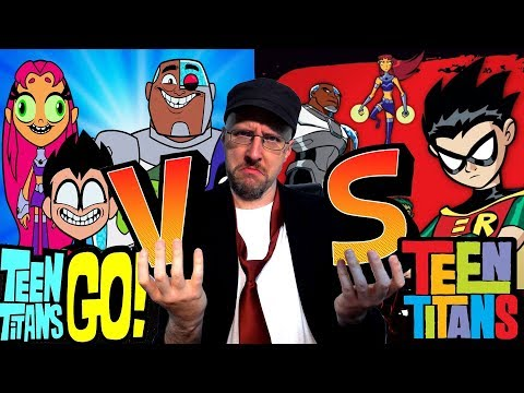 Old vs New Teen Titans 鈥� Nostalgia Critic