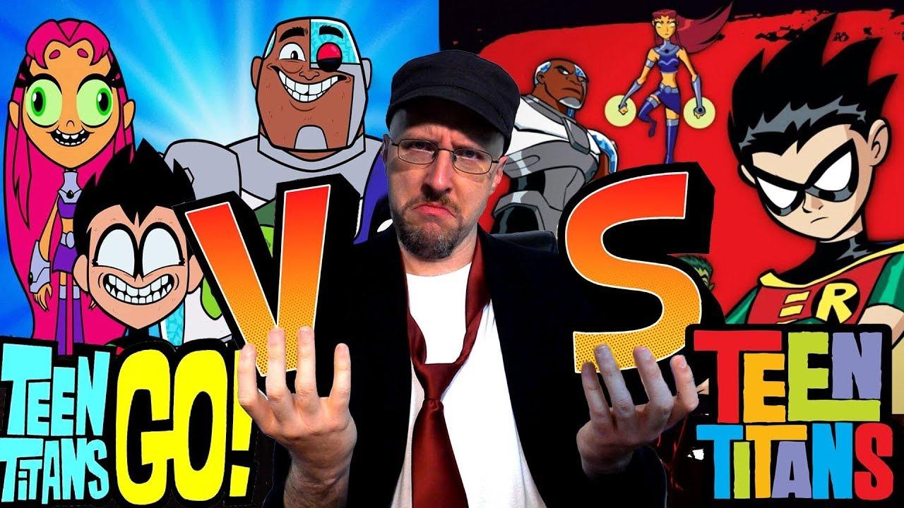 Old Vs New Teen Titans  Nostalgia Critic - Youtube-3706