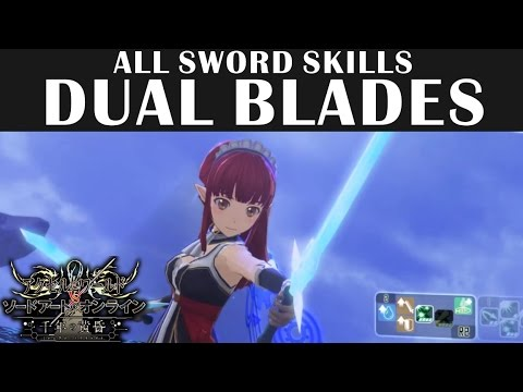 SAO Sword Skill & Weapon Breakdowns | BK Brent's Game Guides