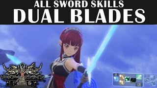 dual Blades All Sword Skills - Accel World vs Sword Art Online