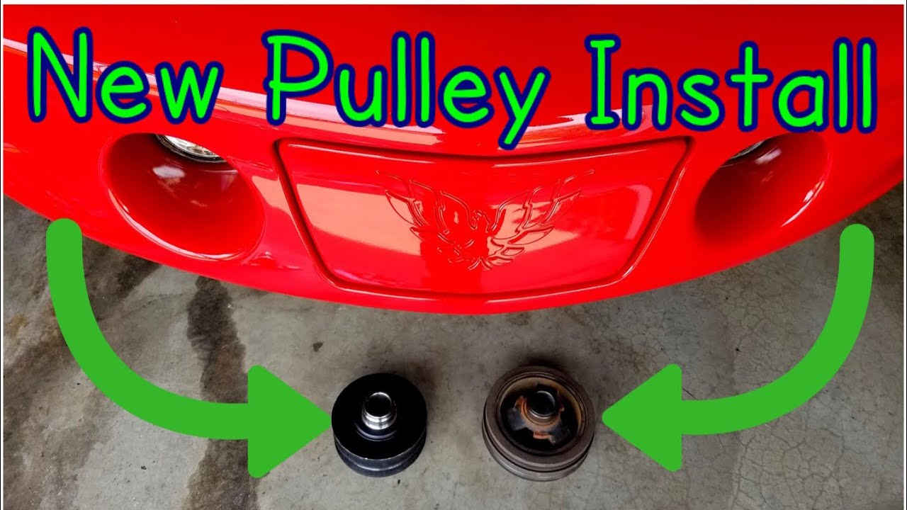 How to install underdrive pulley LS1 Trans Am WS6