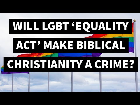 So-Called 'Equality Act' Will Make Belief in Biblical Marriage Akin to 'Racism' or 'Bigotry'