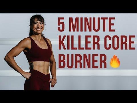 5 Minute Killer Core Workout