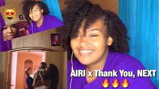 I AM JUST AIRI, ARIANA GRANDE x THANK YOU, NEXT (MASHUP REACTON) | Misha Vanique