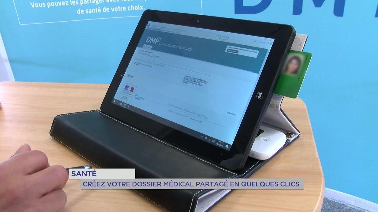 Yvelines | Santé : créez votre dossier médical partagé en quelques clics