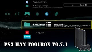 PS3 HAN Toolbox v0.7.1 Installation Introduction [PS3Xploit v3.0.1 Tutorial]