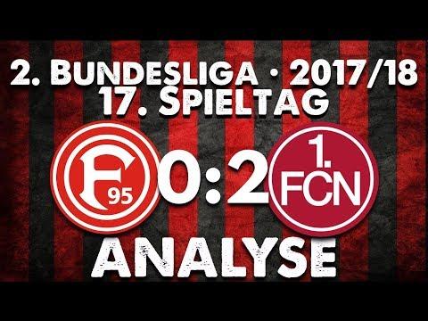 17.Spieltag • Fortuna Düsseldorf : 1.FC Nürnberg - Analyse
