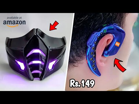10 Coolest Gadgets You Can Buy on Amazon ▶ Under Rs.99 to 500 & 10k