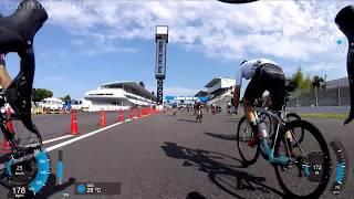 2017 シマノ鈴鹿ロード 5ステージスズカ 第1ステージゴール前