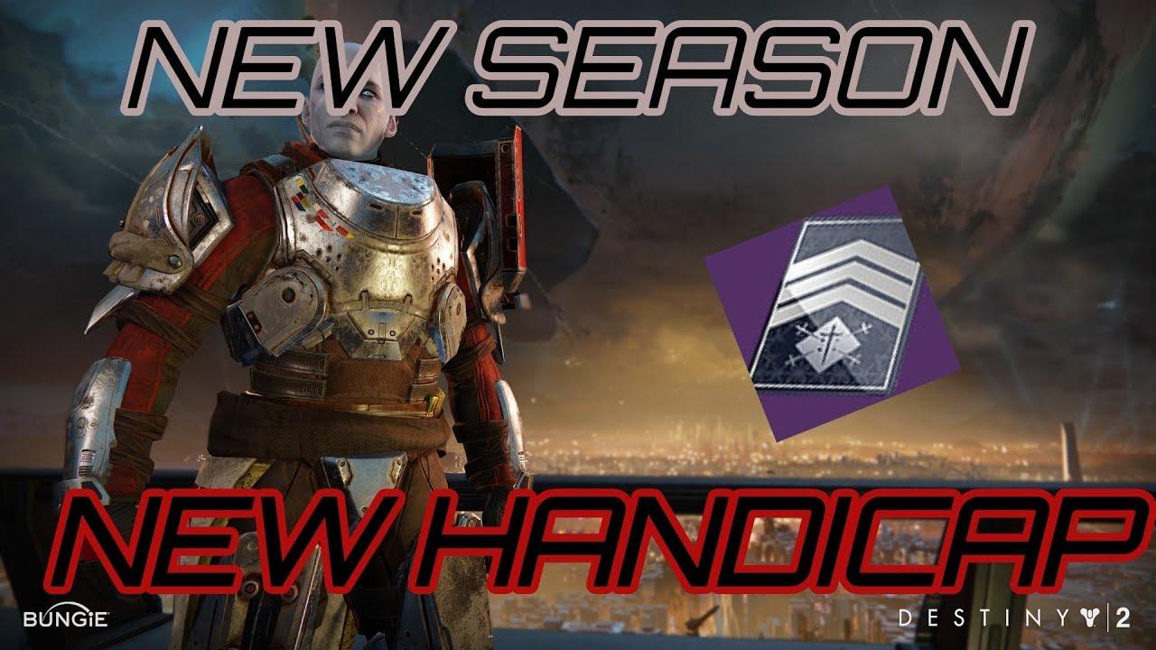 NEW MAX Handicap - Five Of Swords Nightfall Challenge Card - Joker's Wild
