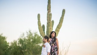 Stunning Dessert Indian Wedding Video, Anisha & Anoop | Phoenix | Arizona