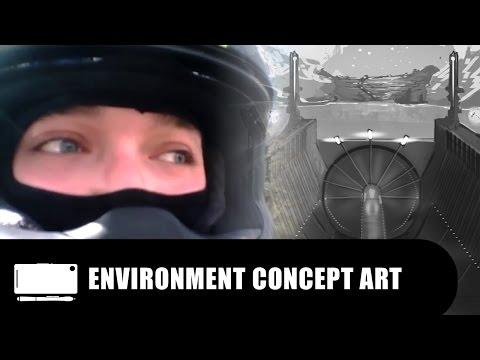 Burrator Reservoir | ENVIRONMENT CONCEPT ART