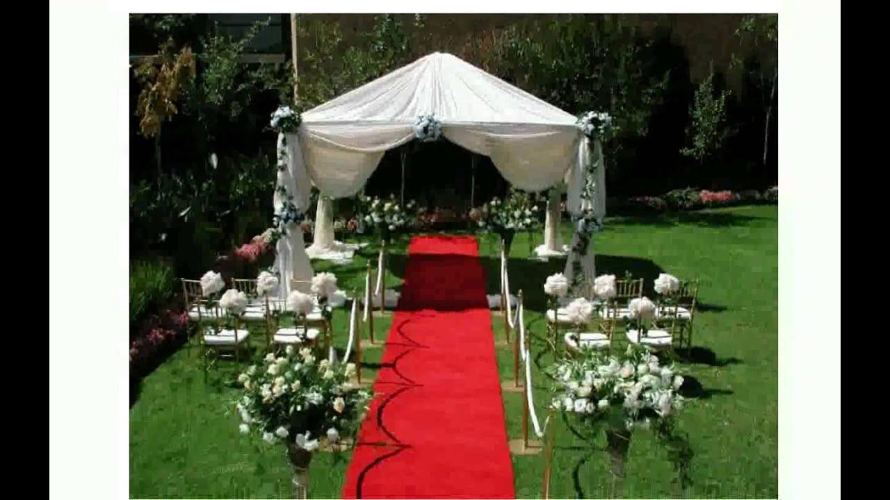 Wedding outdoor decorations youtube wedding outdoor decorations junglespirit Gallery