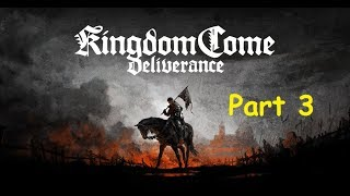 Kingdom Come Deliverance - часть 3 Обучение бою + Поступление на службу 1080p