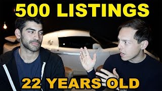How a 22 year old got 500 LISTINGS as a PART TIME Real Estate Agent